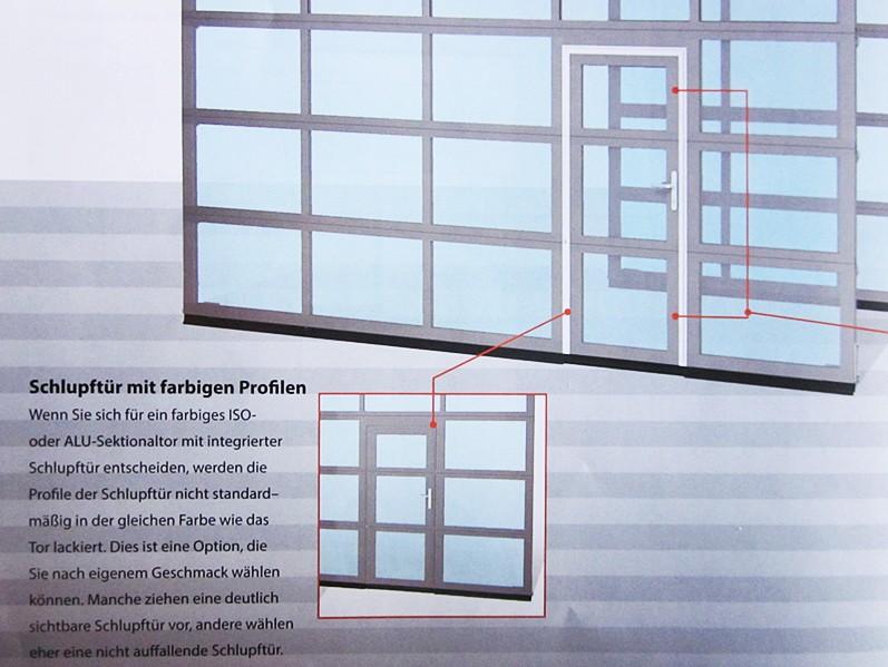 schlupf und nebent ren sektionaltore. Black Bedroom Furniture Sets. Home Design Ideas